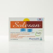 Combo 2 viên uống chống nắng Pharmalife Research Solesan 30 viên - nhập khẩu Italia