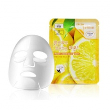 Mặt nạ 3w clinic fresh lemon mask sheet 23ml