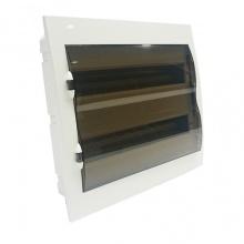 Tủ điện LiOA đế nhựa dùng cho MCB, MCCB, RCBO chứa 24 đến 36 aptomat