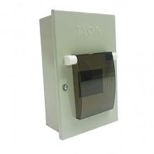 Tủ điện kim loại LiOA dùng cho MCB, MCCB, RCBO chứa 2 aptomat