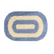 Thảm chùi chân cotton dệt Thanh Bình Grand 40 x 60 cm (xanh dương)