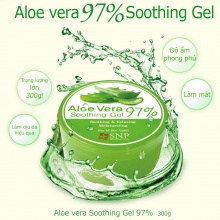 Gel dưỡng ẩm chiết xuất lô hội 97% - 97% Aloe Vera Soothing Gel
