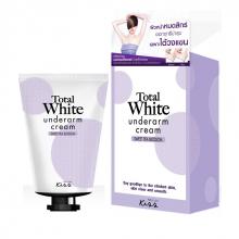 Total White - Kem làm trắng vùng da dưới cánh tay Malissa kiss 30g