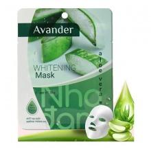 Mặt nạ giấy dưỡng trắng da tinh chất Nha đam Avander 25g