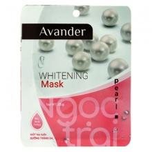 Mặt nạ dưỡng sáng da ngọc trai Avander Whitening Mask - Pearl  25g