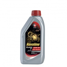 Dầu nhớt chính hãng cho xe số và xe côn tay Caltex Havoline Super 4T SAE 20W50 API SL, JASO MA2 1L