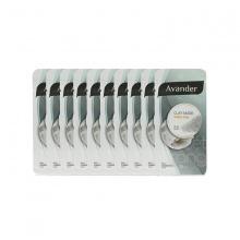 Bộ 10 mặt nạ đất sét trắng Avander Clay Mask - White Clay 15ml x 10