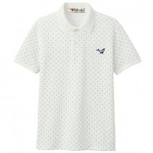 Áo thun nam pigofashion cổ bẻ họa tiết chuẩn phong cách AHT03 màu trắng