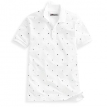 Áo thun nam hoạ tiết mỏ neo phù hợp mọi phong cách Pigofashion  AHT04 màu trắng