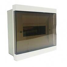 Tủ điện LiOA đế kim loại dùng cho MCB, MCCB, RCBO chứa 8 aptomat SE4FC8LA