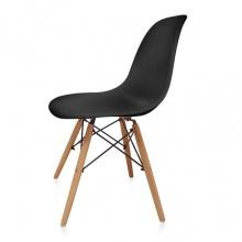 Ghế tối giản kiểu Bắc Âu - Đen