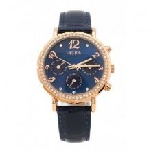 Đồng hồ nữ Julius Hàn Quốc Ja-828F ju1162 (xanh đen)