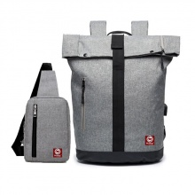 Combo ba lô hàn quốc HR251 và túi đeo chéo Haras HR147