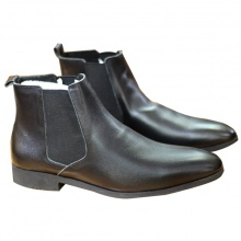 Giày boot nam da bò tấm cao cổ (2h - 60)