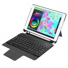 Bàn phím Bluetooth cho iPad 9.7 (2017/2018 version) kèm bao da Promax RK509 (Màu đen)