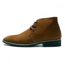 Giày cao cổ nam da bò cao cấp chuka boot 2H - 57