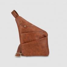 Túi đeo chéo trước ngực nam ngăn trước cá tính Idigo MB2-203-00