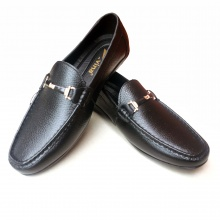 Giày lười nam da bò thật JMTT12