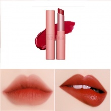 Son thỏi Black Rouge Rose Velvet Lipstick 3,5g # R02 Sunshine Rose – đỏ chily