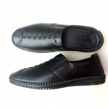 Giày da nam - Giày đốc lười dáng thể thao Geleli
