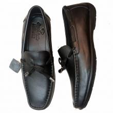 Giày lười da bò thật phong cách Hàn Quốc