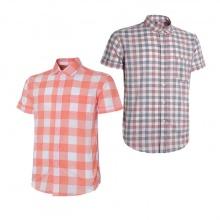 Combo 2 áo sơ mi nam sọc caro Model Fashion cao cấp MSMI2022