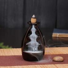 Thác khói phong thủy trầm hương - tặng kèm 5 nụ trầm búp sen - nhang thiền