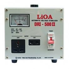 Ổn áp 1 pha LiOA DRI-500II