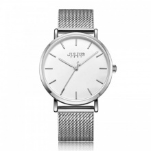 Đồng hồ nam JA-1164MA Julius Hàn Quốc dây thép (bạc)