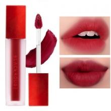 Son kem lì Black Rouge Air Fit Velvet Tint màu#A04 đỏ thẫm