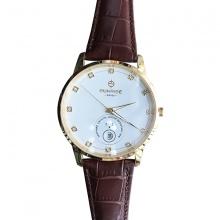 Đồng hồ nam Sunrise 1138SA G chính hãng [full box + thẻ bảo hành 3 năm] kính sapphire chống xước - chống nước - dây da cao cấp
