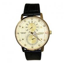 Đồng hồ nam Sunrise 1164SA G chính hãng (full box + thẻ bảo hành 3 năm) kính sapphire chống xước - chống nước - dây da cao cấp