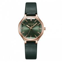 Đồng hồ nữ JS-008 Julius Star Hàn Quốc dây da
