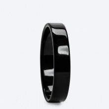Vòng tay phong thủy đá mã não đen (ni 52 - 58mm) mệnh thủy, mộc - Ngọc Quý Gemstones