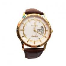 Đồng hồ nam Sunrise DM767SWA  chính hãng (full box + thẻ bảo hành 3 năm) kính sapphire chống xước - chống nước - dây da cao cấp