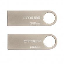 (Combo - bộ đôi lưu trữ) 2 USB Kingston Data Traveler SE9 32G