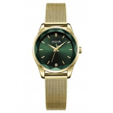 Đồng hồ nữ Julius Hàn Quốc dây thép JA-1040a (vàng)