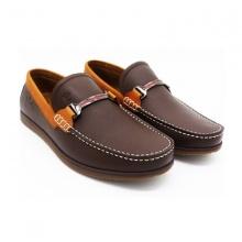 Giày lười nam cao cấp Pierre Cardin B064BRW màu nâu