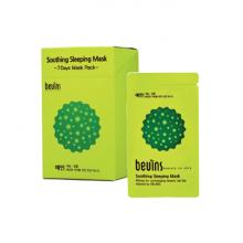 Mặt nạ ngủ cấp ẩm Beuins Soothing Sleeping Mask (hộp 20 gói )