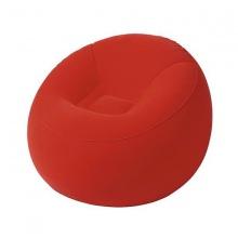 Ghế hơi hình quả đào - màu đỏ: 75052