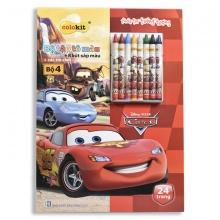 Tập tô màu Colokit Disney Cars CB-C022/CA