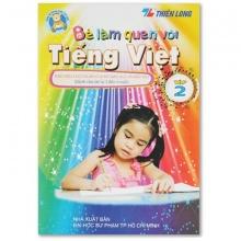 Bé làm quen Tiếng Việt 2 Thiên Long LQTV-02