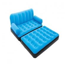 Ghế giường hơi đôi 2 in 1 màu xanh dương - 67356