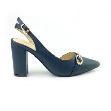 Giày cao gót bít mũi Sunday CG40 màu xanh dương