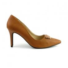 Giày cao gót bít mũi Sunday CG39 màu nâu