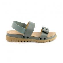 Sandal đế bệt quai ngang Sunday SD24 màu xám