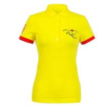 Áo phông nữ ngắn tay có cổ Hàn Quốc Disney Golf DG2LTS064 YE
