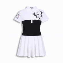 Áo váy Hàn Quốc Disney Golf DG2LTS045 WH