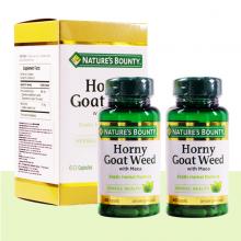Combo 2 hộp viên uống tăng cường sinh lý nam Horny Goat Weed Nature's Bounty - 60 viên