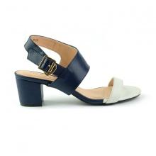 Sandal đế vuông êm chân Sunday DV45 màu xanh dương